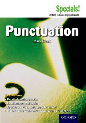 Secondary Specials!: English - Punctuation (11-14) (Paperback)