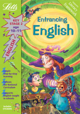 Entrancing English Age 10-11: Key Stage 2 - Letts Magical Topics (Paperback)