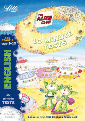 Alien Club 10 Minute Tests English 9-10 - Alien Club (Paperback)