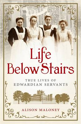 Life Below Stairs: True Lives of Edwardian Servants (Hardback)