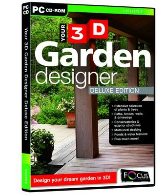 Your 3D Garden Designer Deluxe Edition (ESS568/D) (CD-ROM)
