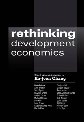 Rethinking Development Economics - Anthem Frontiers of Global Political Economy No. 1 (Paperback)