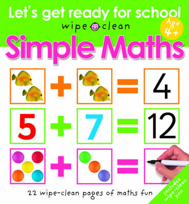 Simple Maths - Let's Get Ready for School (Spiral bound)