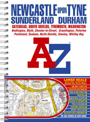 Newcastle Upon Tyne Street Atlas - Street Maps & Atlases S. (Spiral bound)