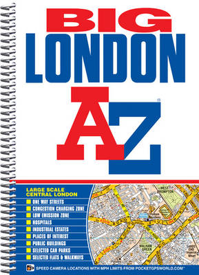 Big London Street Atlas - London Street Atlases (Spiral bound)