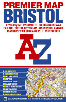 Bristol Premier Map - A-Z Street Maps & Atlases (Sheet map, folded)