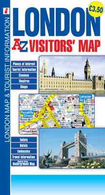 London: A-Z Visitors Map (Sheet map, folded)