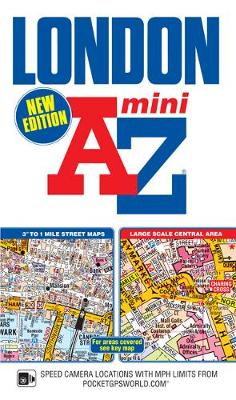Mini London Street Atlas - London Street Atlases (Paperback)