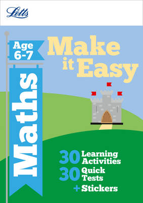 Maths Age 6-7 - Letts Make it Easy Complete Editions (Paperback)