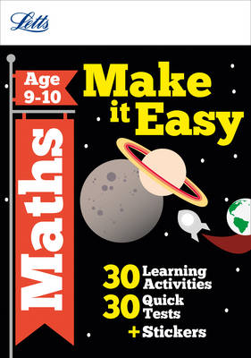 Maths Age 9-10 - Letts Make it Easy Complete Editions (Paperback)