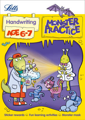 Handwriting Age 6-7: Age 6-7 - Letts Monster Practice (Paperback)