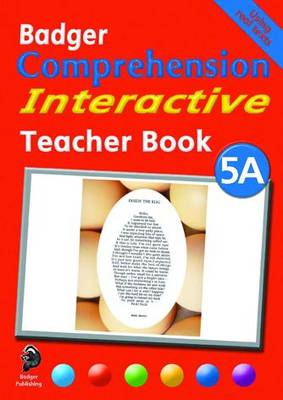 Badger Comprehension Interactive KS2: Teacher Book 5A - Badger Comprehension Interactive (Spiral bound)