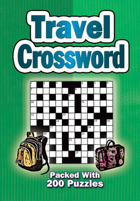 Travel Crossword: Packed with 200 Puzzles (Spiral bound)