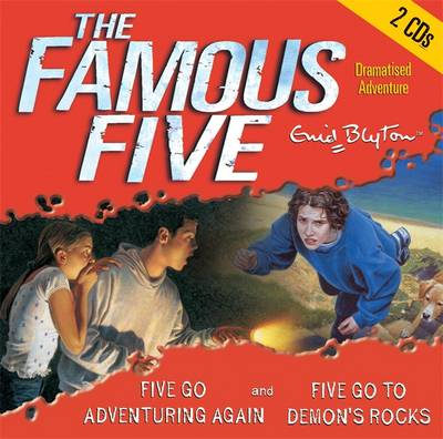 Five Go Adventuring Again & Five Go to Demon's Rocks - Famous Five 3 (CD-Audio)