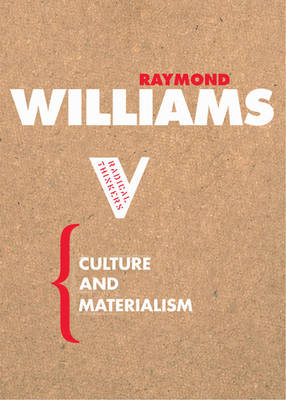 Culture and Materialism (Paperback)