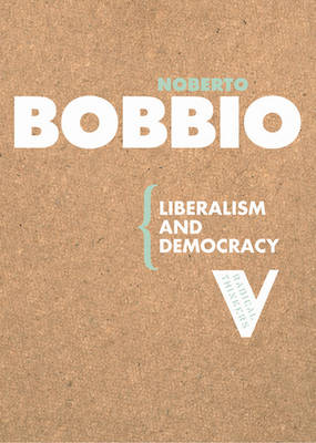 Liberalism and Democracy (Paperback)