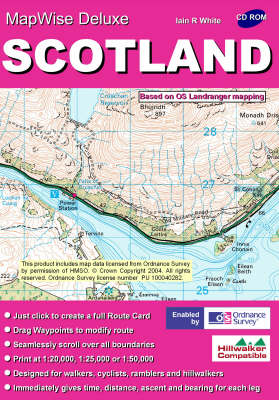 Scotland: All OS Landranger Maps of Scotland on CD - MapWise 50 S. (CD-ROM)