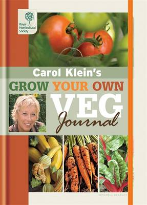 Rhs Grow Your Own: Veg Journal - Royal Horticultural Society Grow Your Own (Hardback)