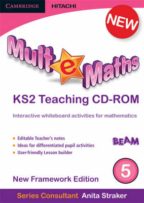 Mult-e-Maths Teaching CD-ROM 5: 5: New Framework Edition - Mult-e-Maths (CD-ROM)