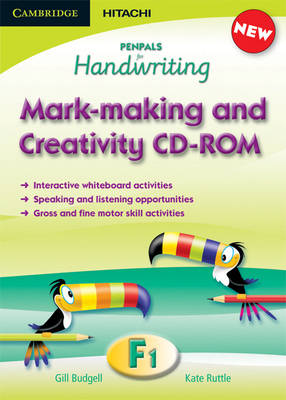 Penpals for Handwriting Foundation 1 Mark-making and Creativity CD-ROM - Penpals for Handwriting (CD-ROM)