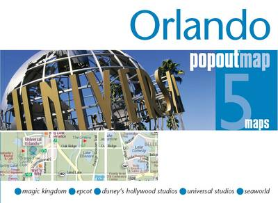 Orlando PopOut Map - Popout Maps (Sheet map, folded)