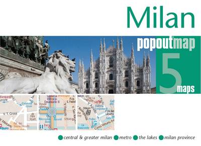 Milan PopOut Map - Popout Maps (Sheet map, folded)