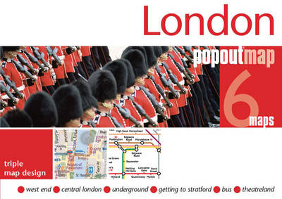 London PopOut Map - Popout Maps (Sheet map, folded)