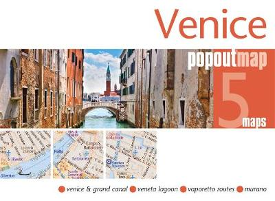 Venice Popout Map - Popout Maps (Sheet map, folded)