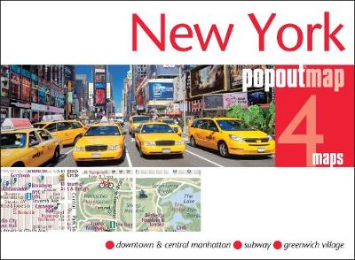 New York Popout Map - Popout Maps (Sheet map, folded)