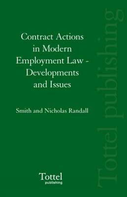 Contract Actions in Modern Employment Law: Developments and Issues (Hardback)