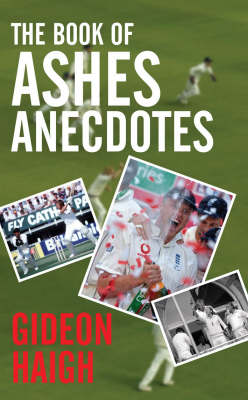 The Book of Ashes Anecdotes (Hardback)