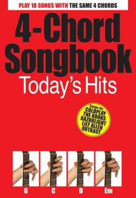 4-Chord Songbook: Today's Hits - 4 Chord Songbook S. (Paperback)
