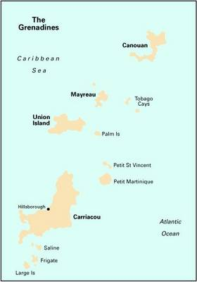 Imray Iolaire Chart B311: Middle Grenadines (Sheet map, folded)