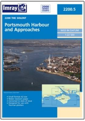 Imray Chart 2200.5: Portsmouth Harbour and Approaches (Sheet map, folded)