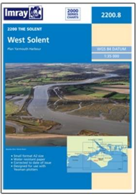Imray Chart 2200.8: West Solent (Sheet map, flat)