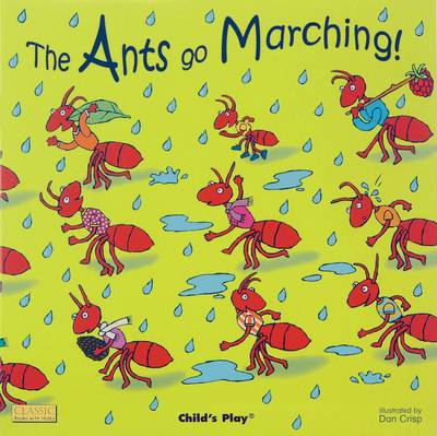 The Ants Go Marching - Classic Books with Holes (Board book)
