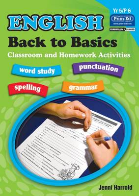 English Homework: Bk. E: Back to Basics Activities for Class and Home (Paperback)