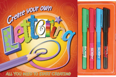 Create Your Own Lettering - Art Studio Design Books (Spiral bound)