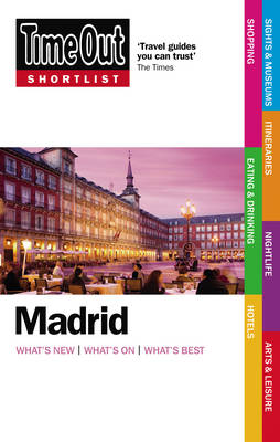 """Time Out"" Shortlist Madrid (Paperback)"