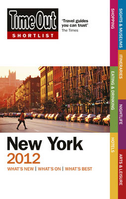 Time Out Shortlist New York 2012 (Paperback)