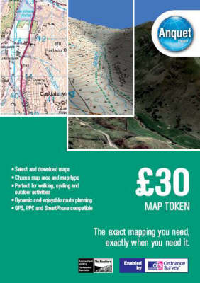 GBP 30 Map Token: Digital Mapping Enabled by Ordnance Survey (& Others) (DVD)