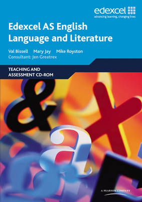 Edexcel AS English Language and Literature Teaching and Assessment (CD-ROM)