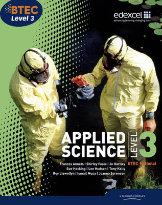 BTEC Level 3 National Applied Science Student Book: Level 3 (Paperback)