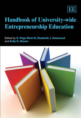 Handbook of University-Wide Entrepreneurship Education - Research Handbooks in Business and Management Series (Hardback)