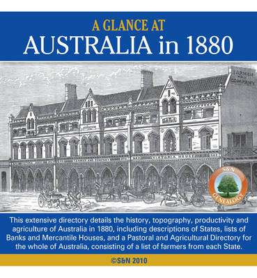 A Glance at Australia in 1880 (CD-ROM)