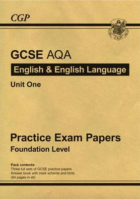 GCSE English AQA Practice Papers - Foundation (Paperback)
