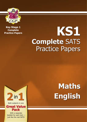KS1 Maths & English SATS Practice Papers Pack (for the New Curriculum) (Paperback)