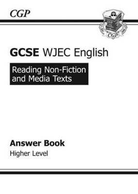 GCSE English WJEC Reading Non-Fiction Texts Answers (for Workbook) Higher (A*-G Course) (Paperback)