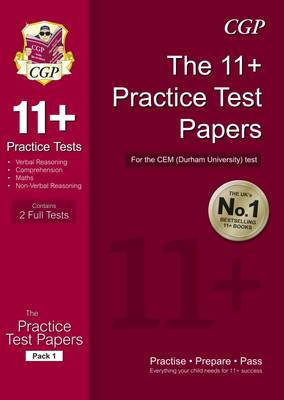 11+ Practice Tests for the CEM Test: Pack 2 (Paperback)