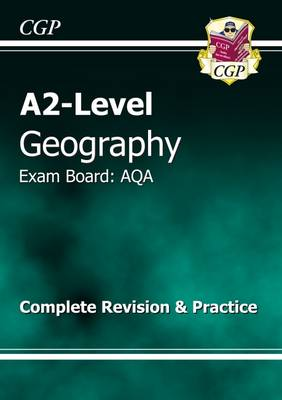 A2 Level Geography AQA Complete Revision & Practice (Paperback)